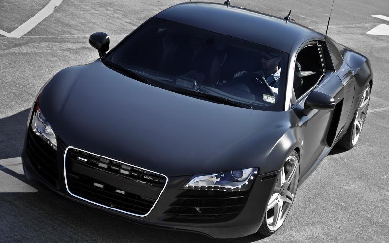 Très Audi R8 MAT BLACK - Technic Hobby XF38