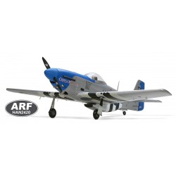 P-51 Mustang blue nose